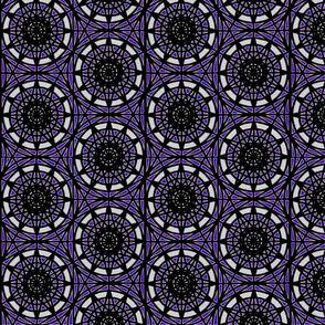 geometric circles - purple
