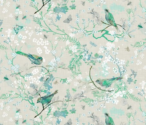 Rrrbirds_and_bees_beige_-_mint_shop_preview