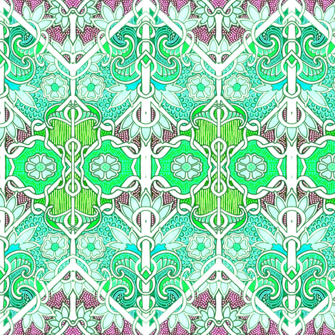 Beyond the Cabbage Patch fabric by edsel2084 on Spoonflower - custom fabric