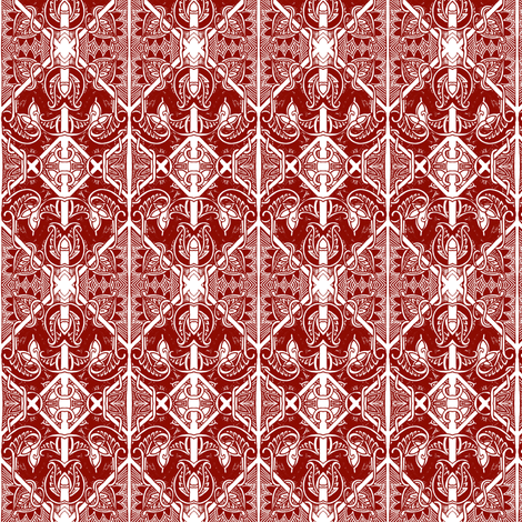 Wrought Iron Gate fabric by edsel2084 on Spoonflower - custom fabric