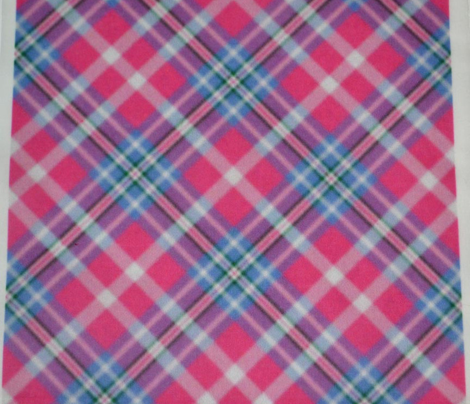 Pink Cornflower Plaid 2