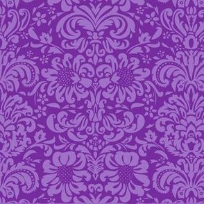 Damask-Purple