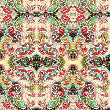 Flutter By fabric by edsel2084 on Spoonflower - custom fabric