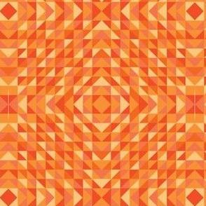 geometric oranges
