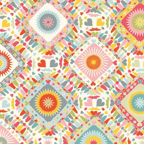 Folk fabric by leventetladiscorde on Spoonflower - custom fabric