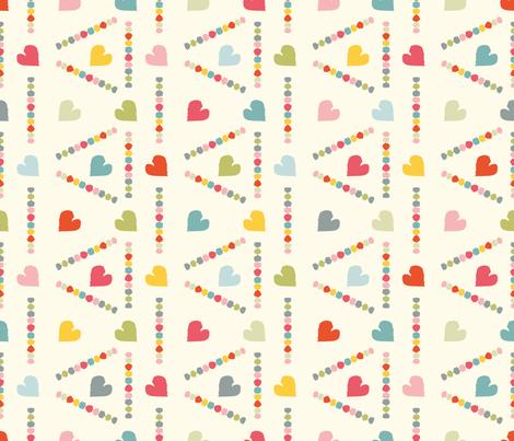 Folk light fabric by leventetladiscorde on Spoonflower - custom fabric