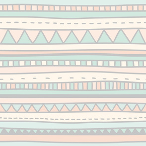 Pastel native pattern