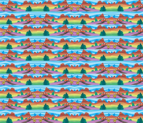 summit fabric by scifiwritir on Spoonflower - custom fabric