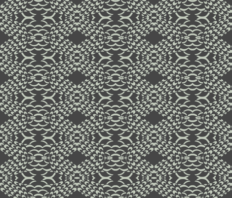 Peacock Tail fabric by uzumakijo on Spoonflower - custom fabric