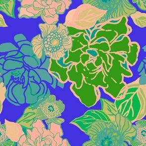 Twilight Jungle Floral