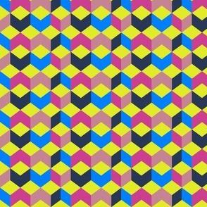 Neon Box Pattern