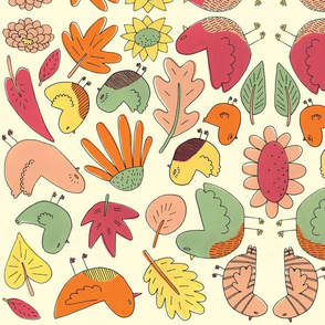 Birdies and Leaves