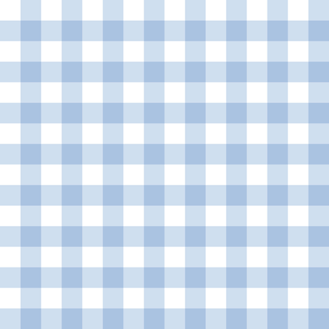 Stockholm Gingham Blueberry fabric by lilyoake on Spoonflower - custom fabric