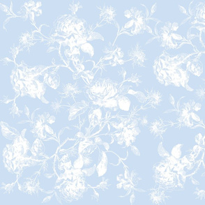 Emma's Wild Roses bright blueberry