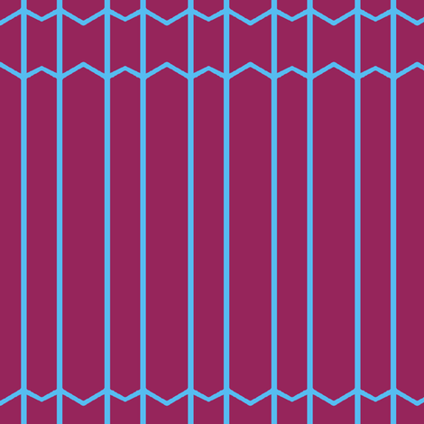 Burgundy and Blue Lines & Thin Chevrons fabric by boris_thumbkin on Spoonflower - custom fabric