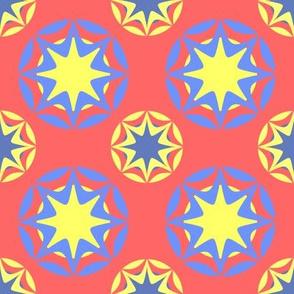 Art-Deco-Star-Red