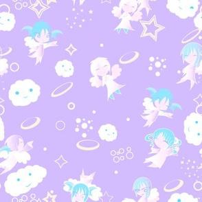 Heaven - baby purple