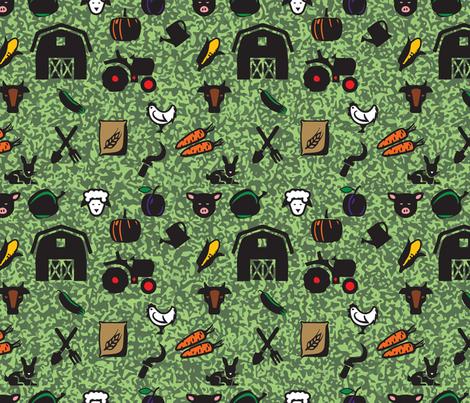 On the Farm fabric by jenarra on Spoonflower - custom fabric