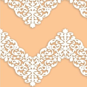 Elegant chevron lace
