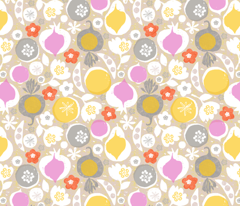 produce - fall fabric by ottomanbrim on Spoonflower - custom fabric