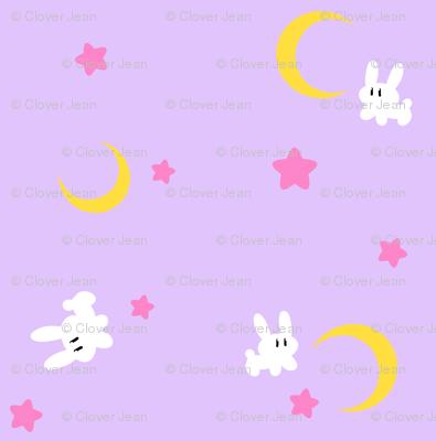 Sailor Moon Bed Spread Small Version Fabric