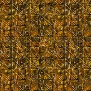 Golden Hand Stamp
