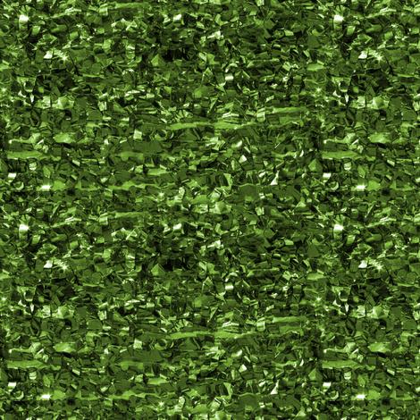 Glitterati ~ Emperor's Emerald  fabric by peacoquettedesigns on Spoonflower - custom fabric