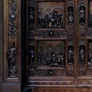 Columbus Bronze doors U.S. Capitol