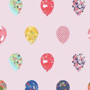 Balloons Large - Pink
