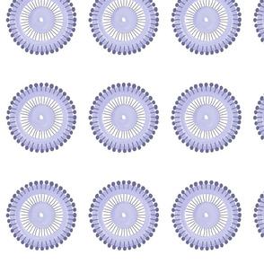 Pin Wheel (Lilac)