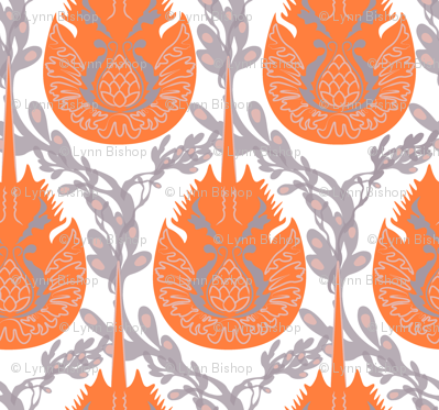 horseshoe crab damask-brighter