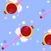 Sailor Moon Scepter Blue