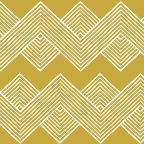 Modern Uniformity - Fancy Gold