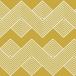 Modern Uniformity - Fancy Gold