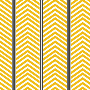 Modern Symmetry - Gold Charcoal