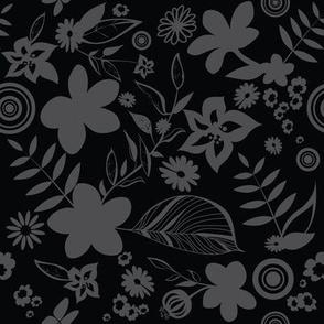 Hibiscus pattern 05