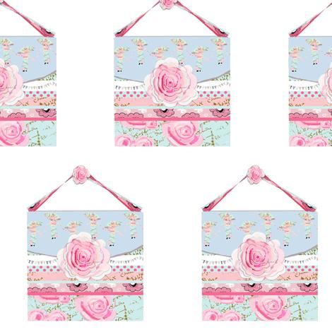 My favorite Shabby Chic Purse fabric by karenharveycox on Spoonflower - custom fabric
