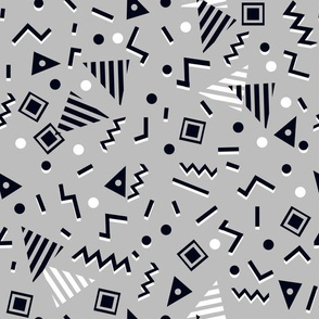 90s Party - Slate Grey by Andrea Lauren