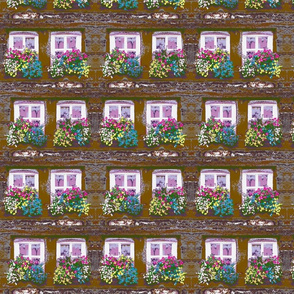 Impressionist  Window Flower Boxes