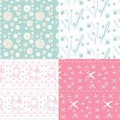 Notions Quilt Mini - XL Full print 40x36