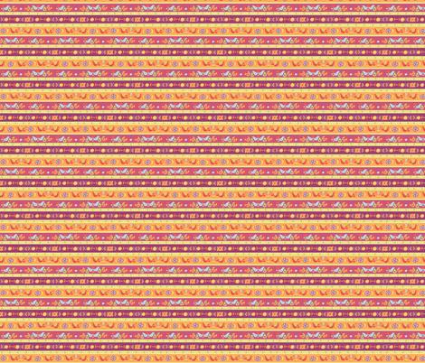 fruit stripes fabric by littledear on Spoonflower - custom fabric