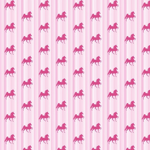 Horses-pink_stripe-for_kids