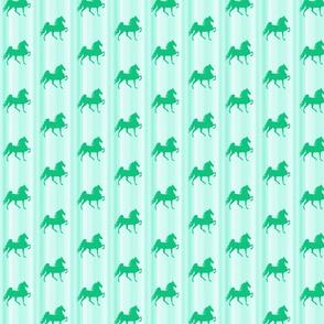 Horses-green_stripe-for_kids