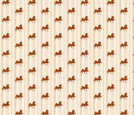 Horses-golden_stripe-for_kids fabric by mammajamma on Spoonflower - custom fabric