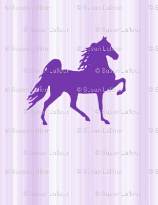 Horses-purple_stripe-for_kids