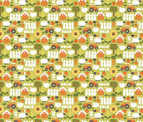 Let's Farm! fabric by ellodesign on Spoonflower - custom fabric