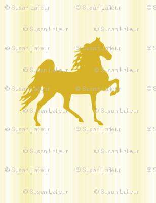 Horses-light_gold_stripe-for_kids