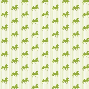 Horses-lime_green_stripe-for_kids