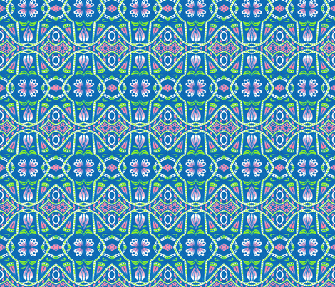 Springhaven (Large) fabric by siya on Spoonflower - custom fabric