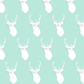 Smarty Pants Deer Small, Seafoam